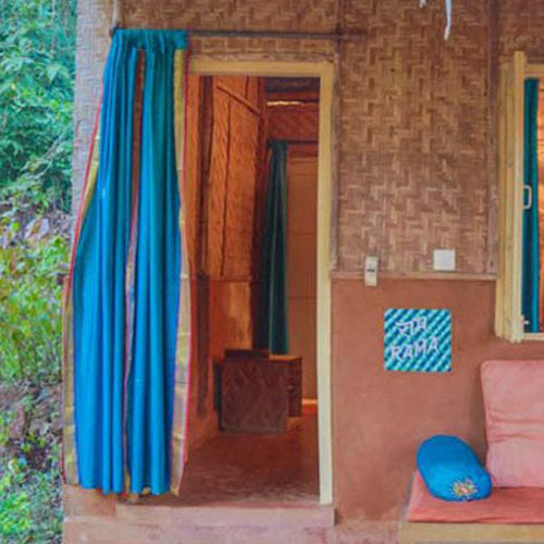 Yoga Budget Cottages | Natural Yoga Cottage - Yoga Retreat - India
