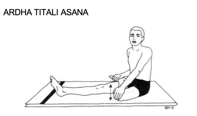 Ardha Titli Asana